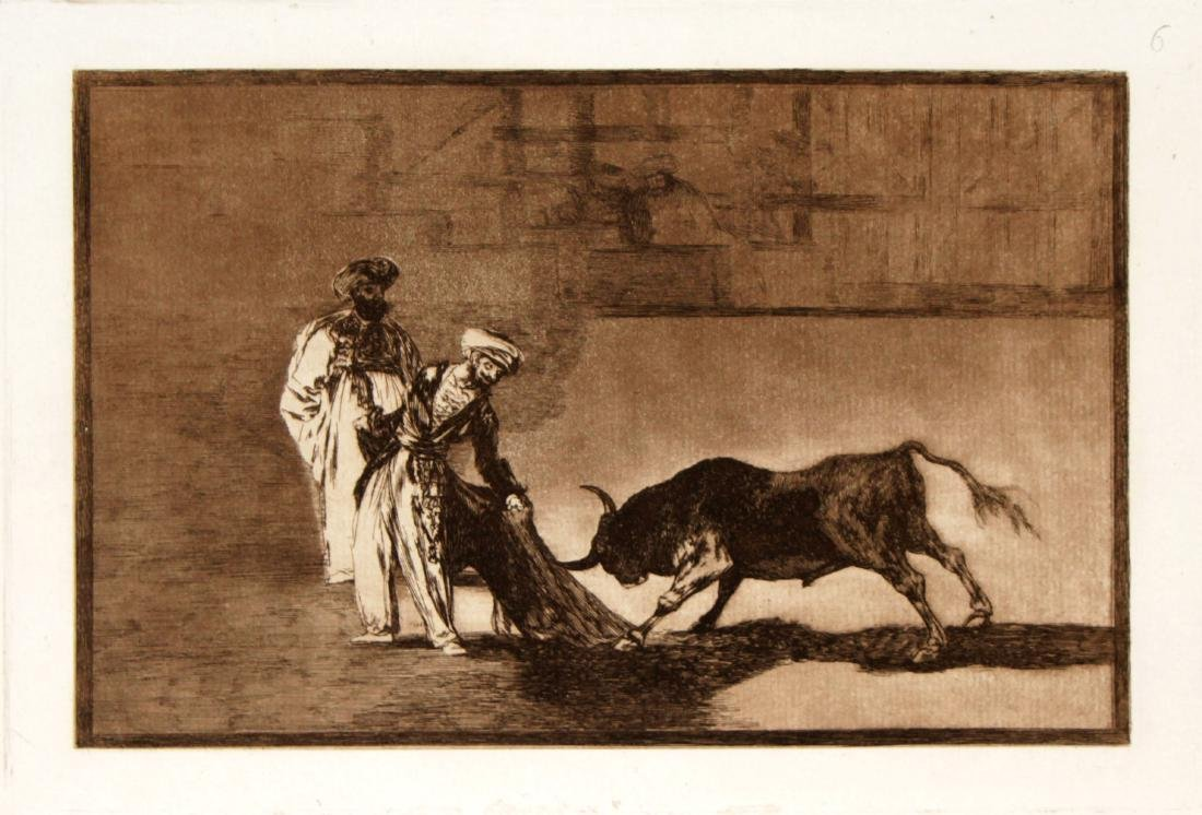 Francisco Goya - Los moros hacen otro capeo en plaza