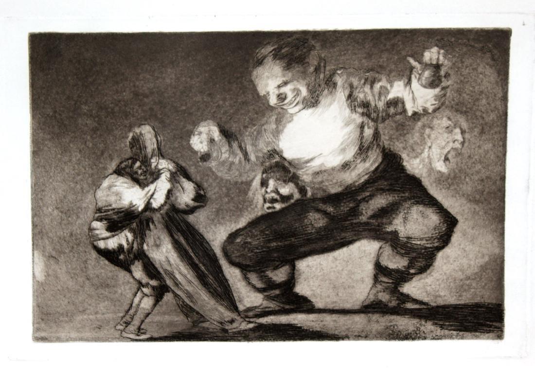 Francisco Goya - Tras El Vicio Viene El Fornicio