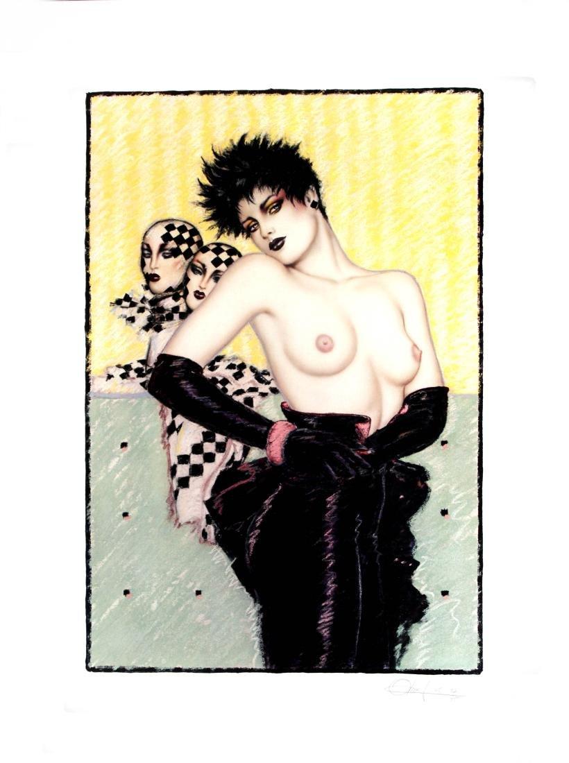 Olivia de Berardinis - Checkerboard Pinup