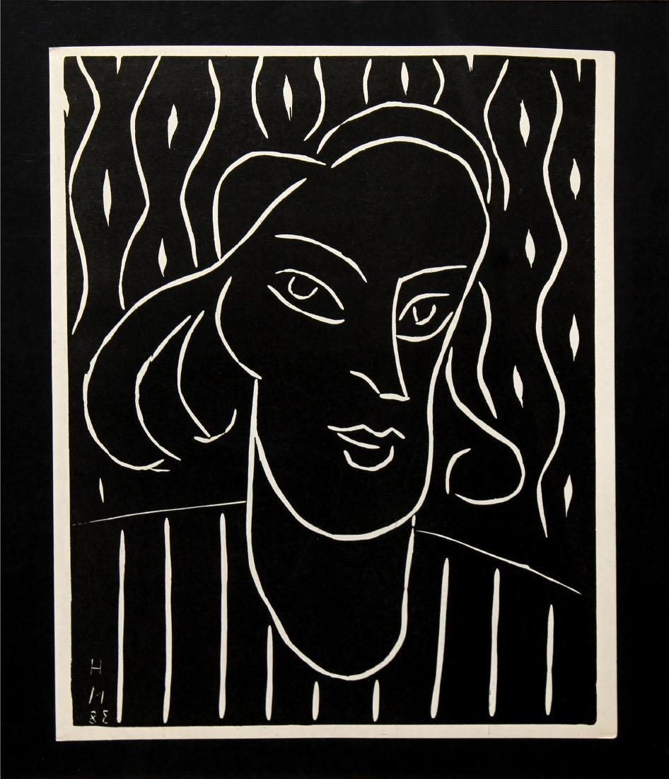 Henri Matisse - Portrait of a Woman