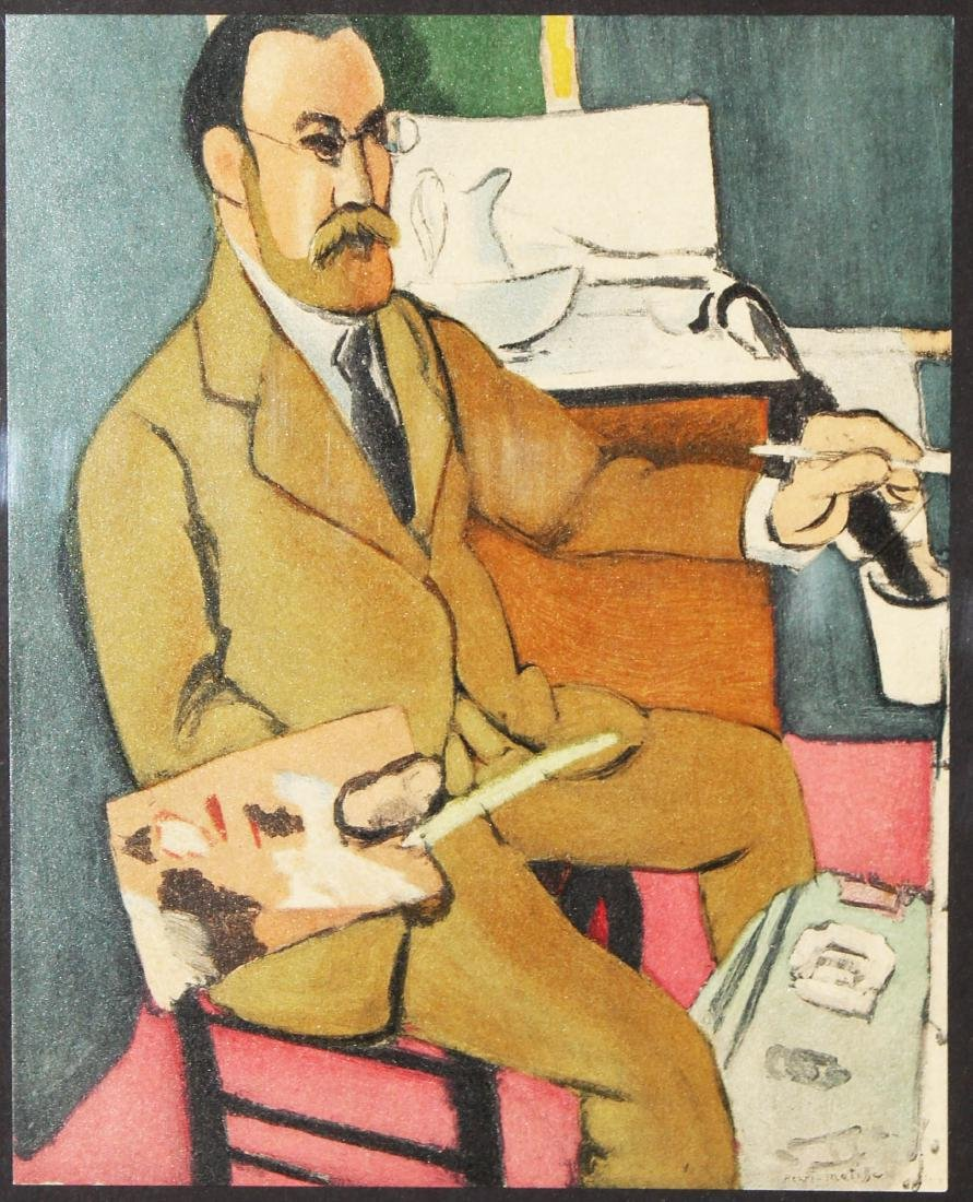 Henri Matisse - Portrait du peintre