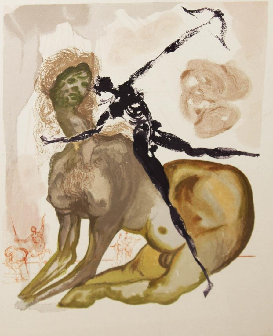 Salvador Dali - The Minotaur