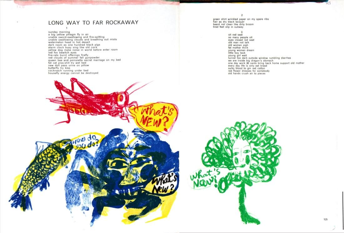 Sam Francis - Long Way to Far Rockaway