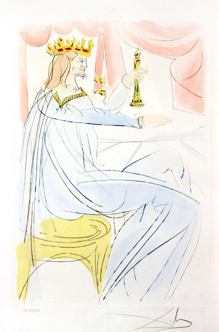 Salvador Dali - King Solomon