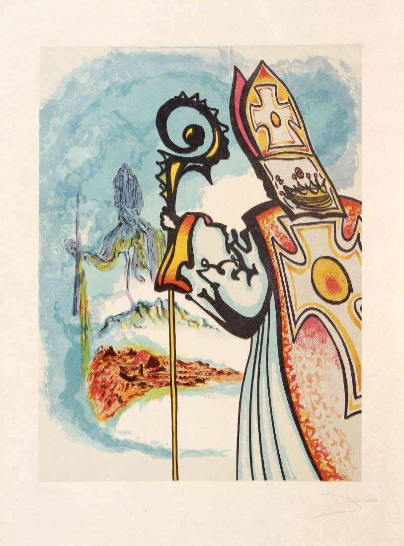 Salvador Dali - King Richard