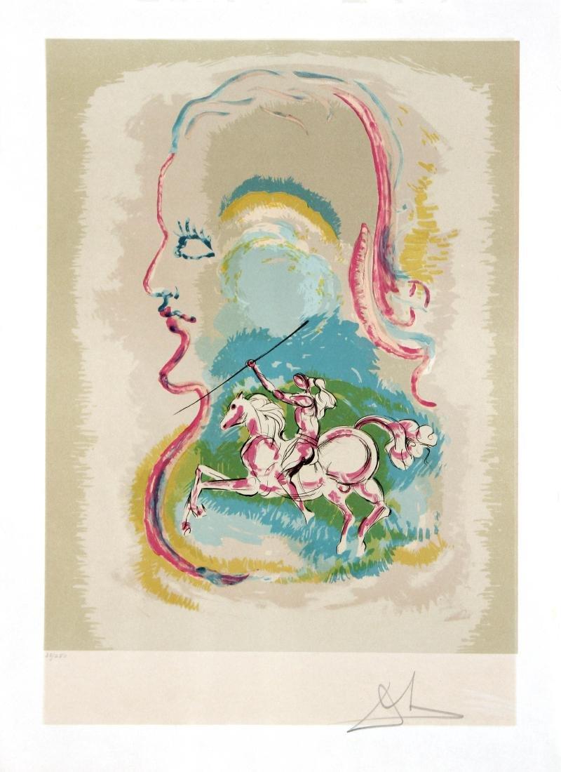Salvador Dali - Dream of Horseman - Cavalier of Cups