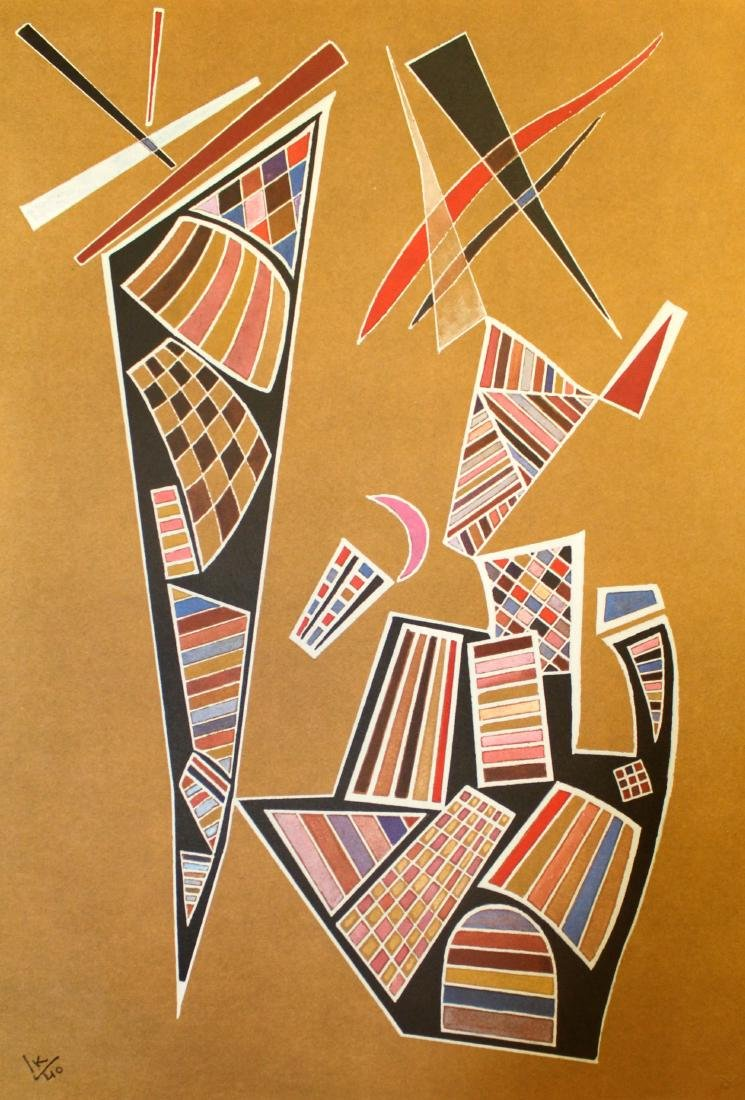 Wassily Kandinsky - Tavola 19