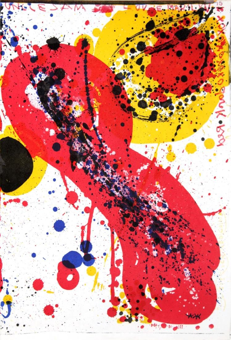 Sam Francis - Uncle Sam