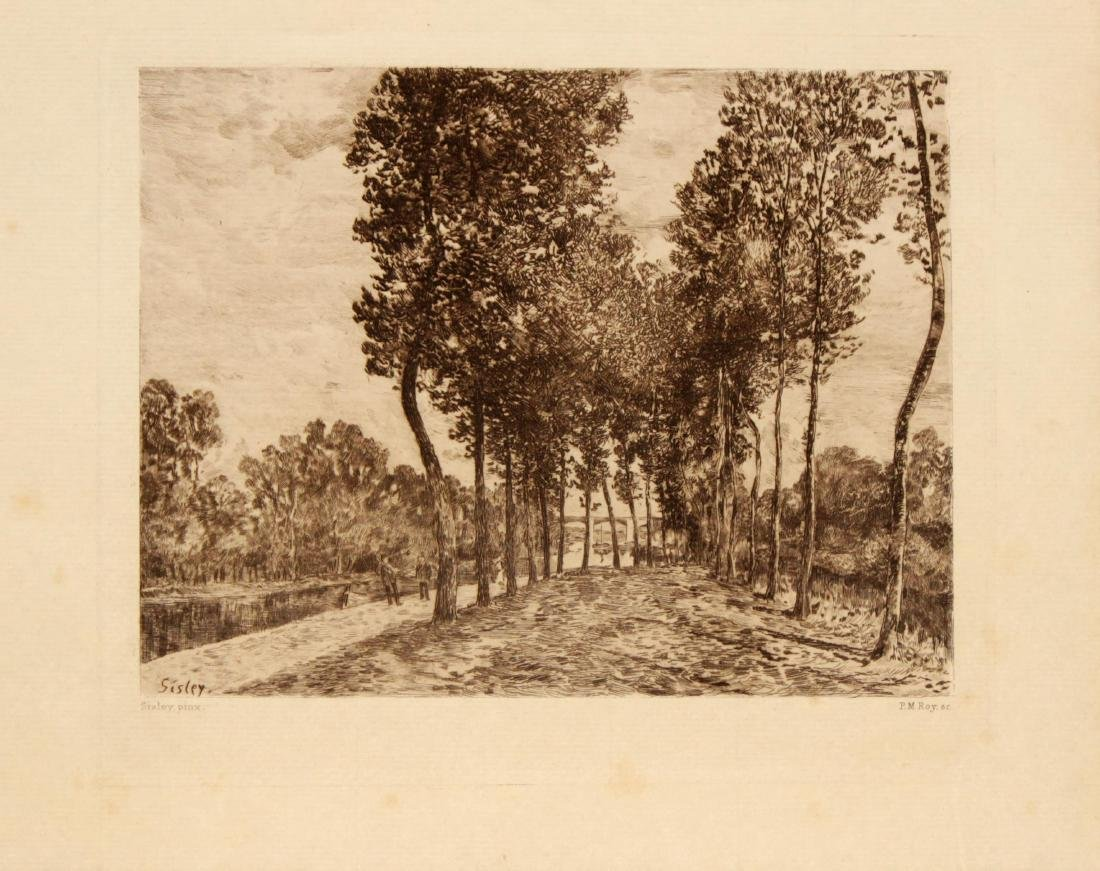 Alfred Sisley - Bords du Loing pres Moret