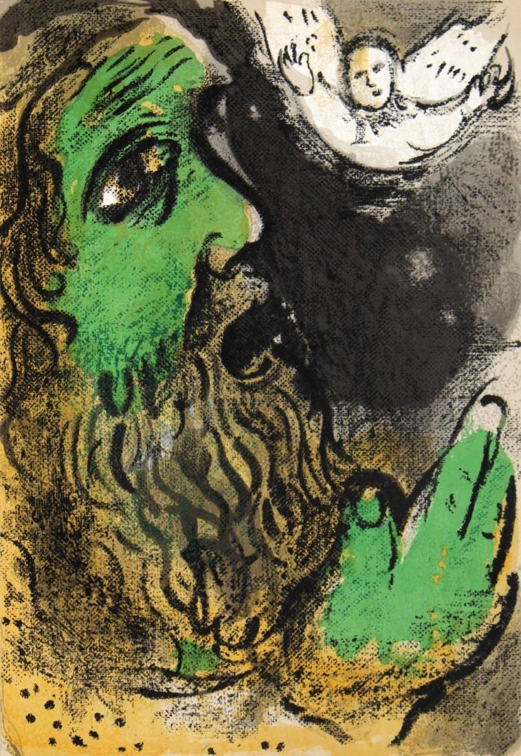 Marc Chagall - Job Praying