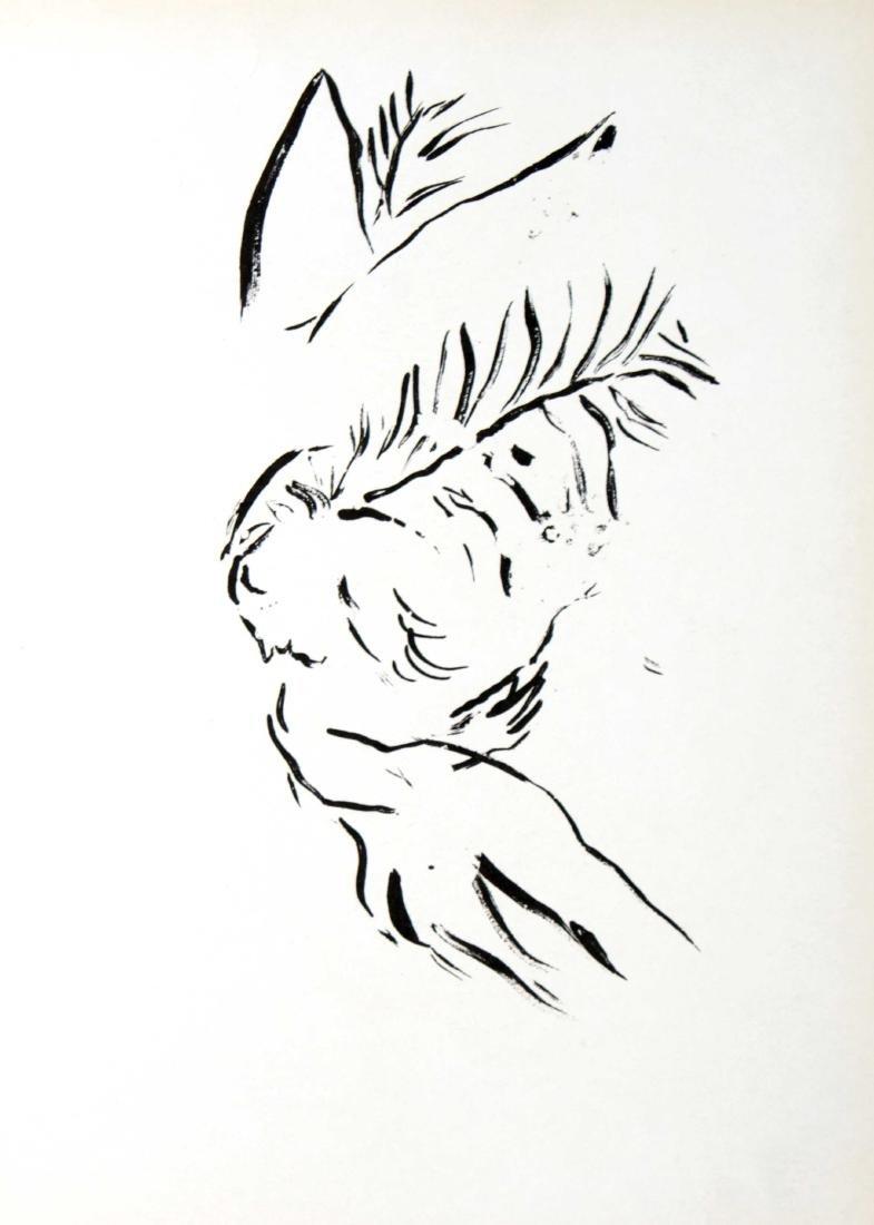 Marc Chagall - Job Praying - 2