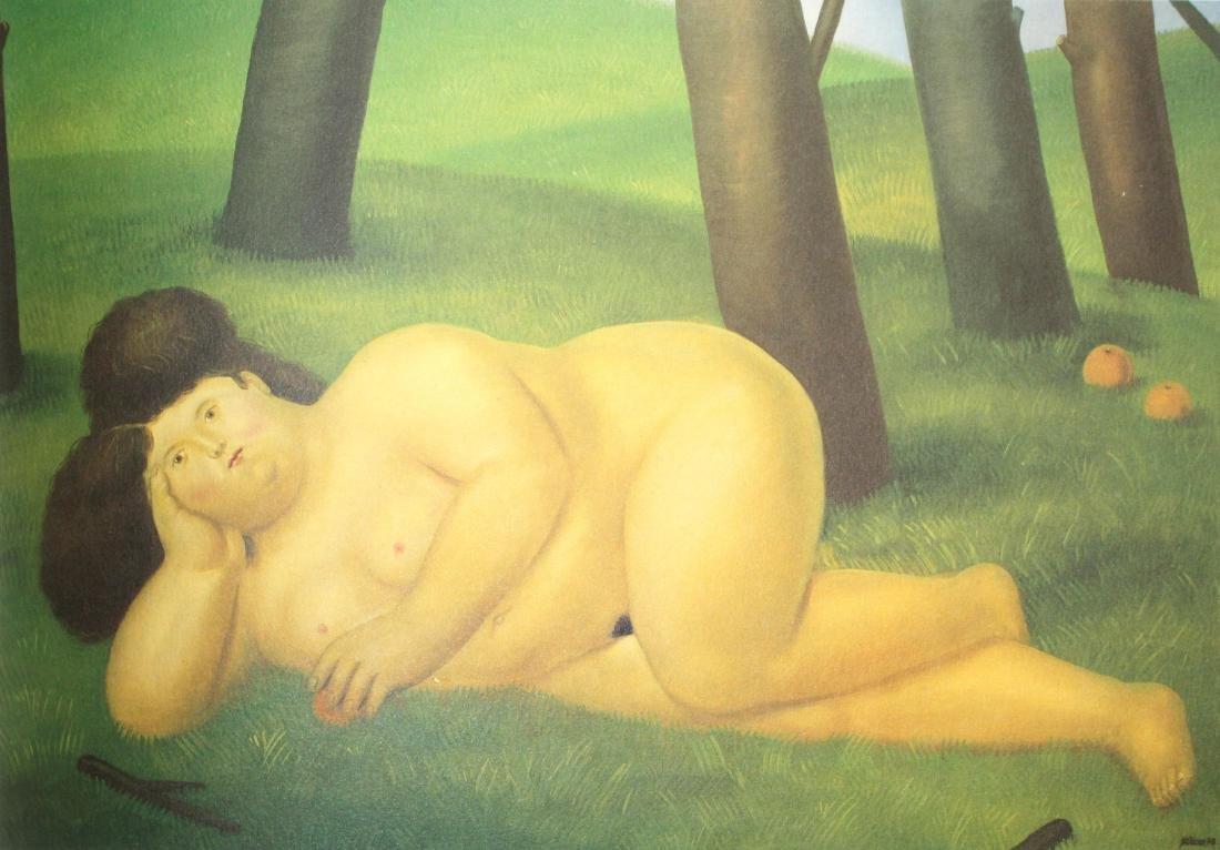 Fernando Botero  - Reclining Woman