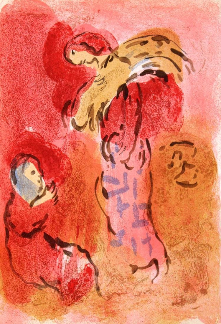 Marc Chagall - Ruth Gleaning