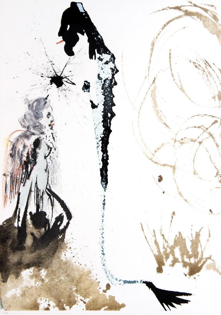 "Salvador Dali - Plate 72 from ""Biblia Sacra"""