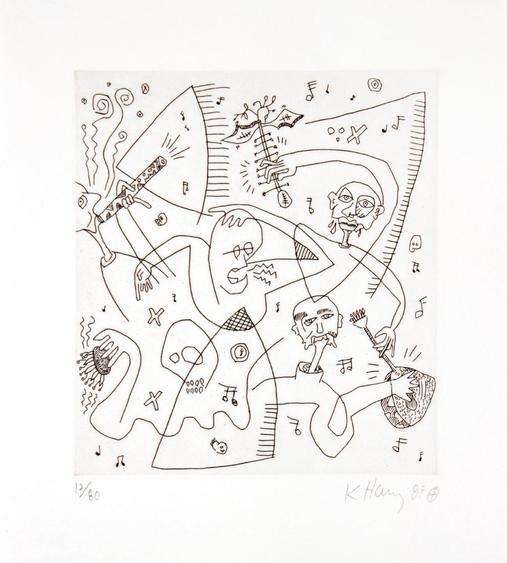 "Keith Haring - Untitled from ""The Valley"""