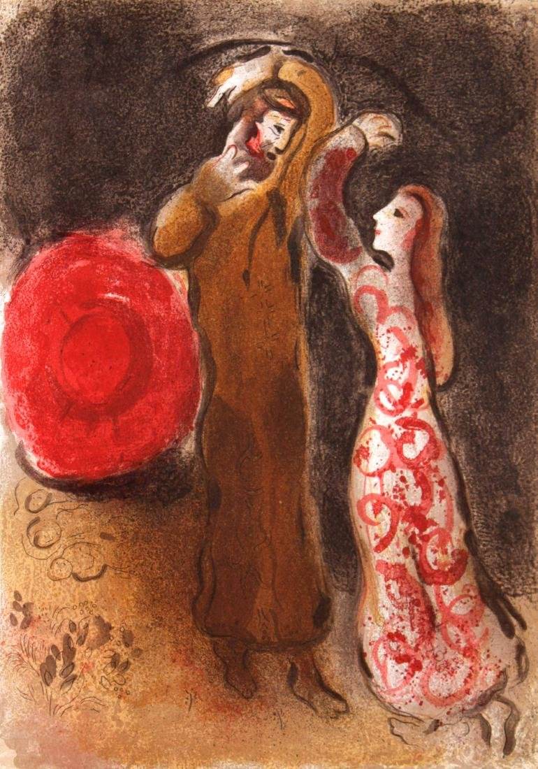Marc Chagall - Meeting of Ruth and Boaz