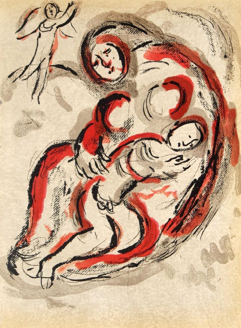 Marc Chagall - Hagar in the Desert
