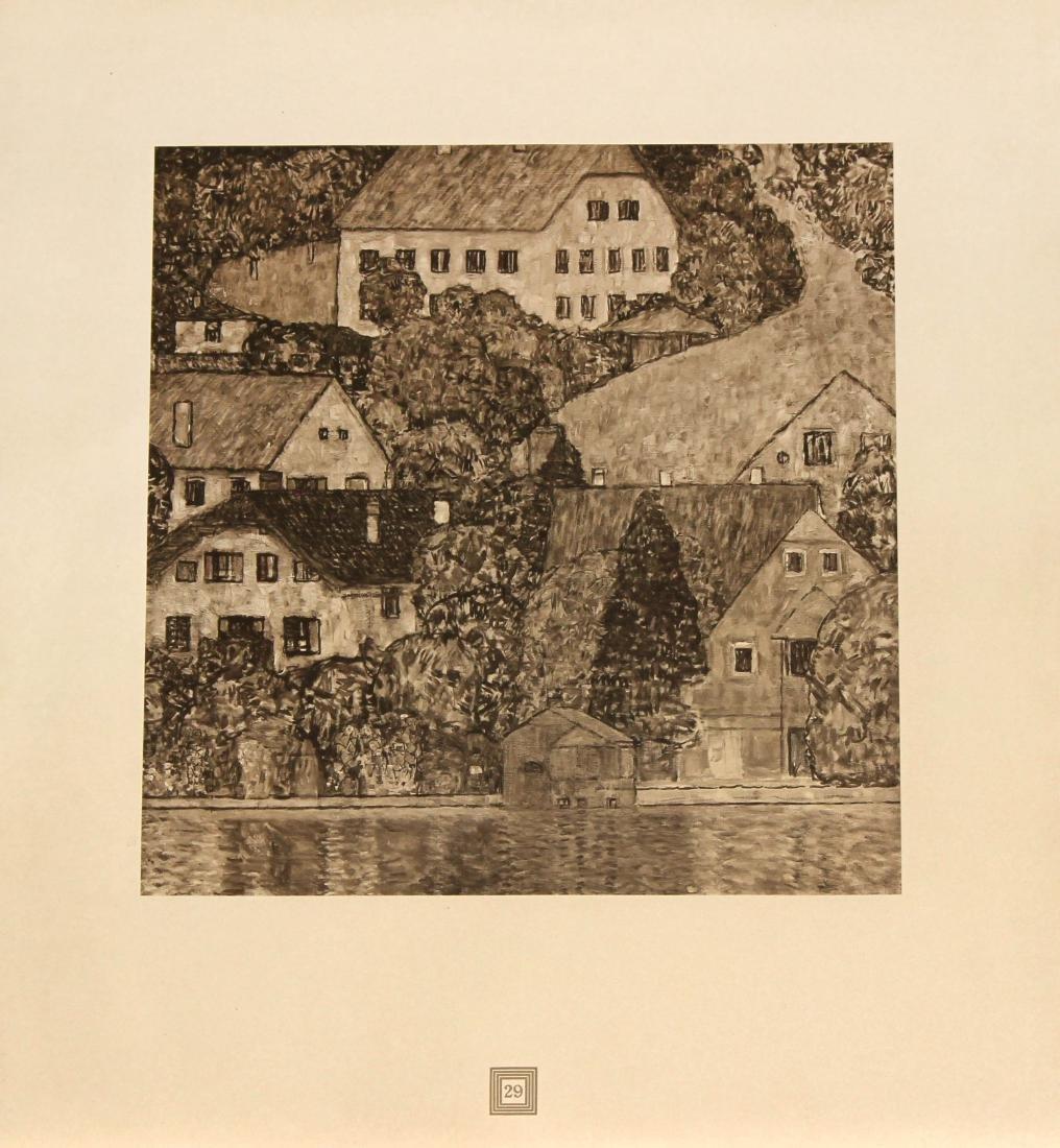 Gustav Klimt (After) - Am Attersee