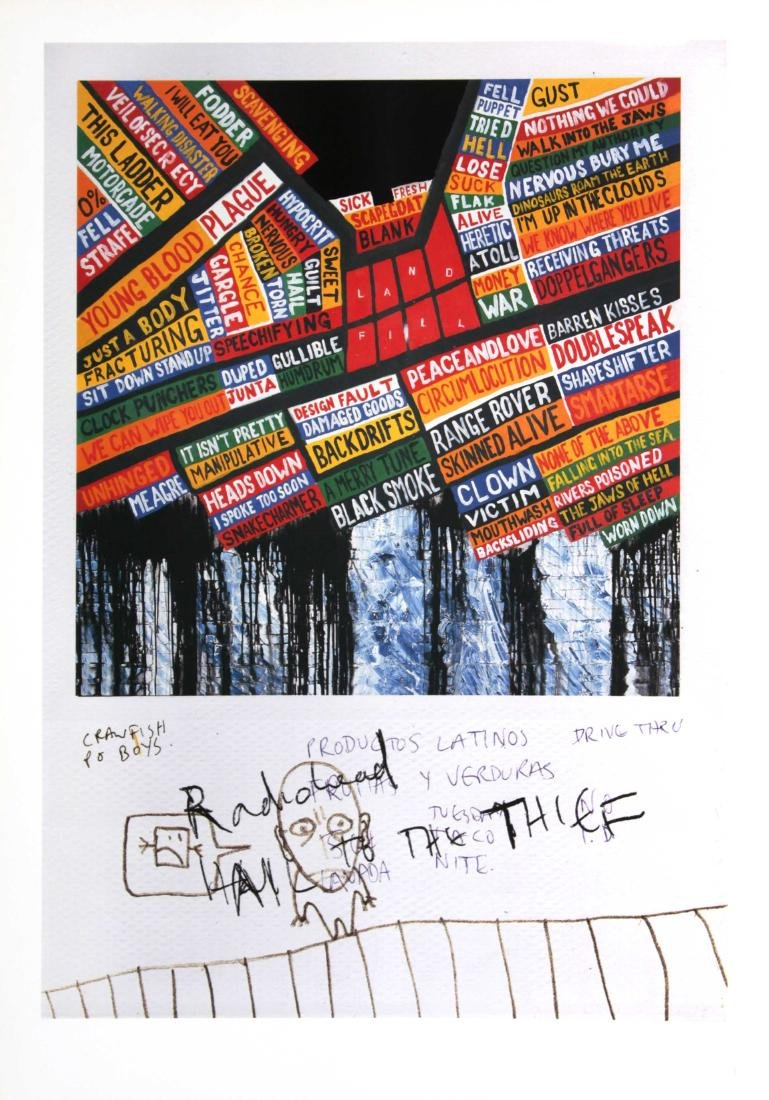 "Stanley Donwood - Radiohead ""Hail to the Thief"" Full"