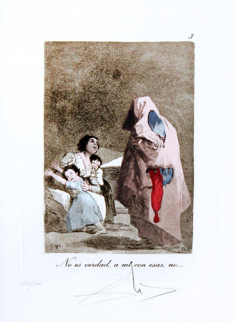 Salvador Dali - No es Verdad (w/ Melting Clock)