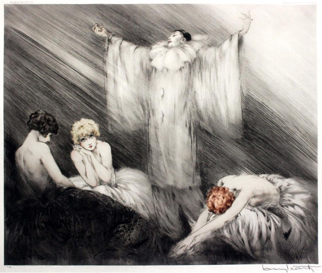 Louis Icart - The Poem