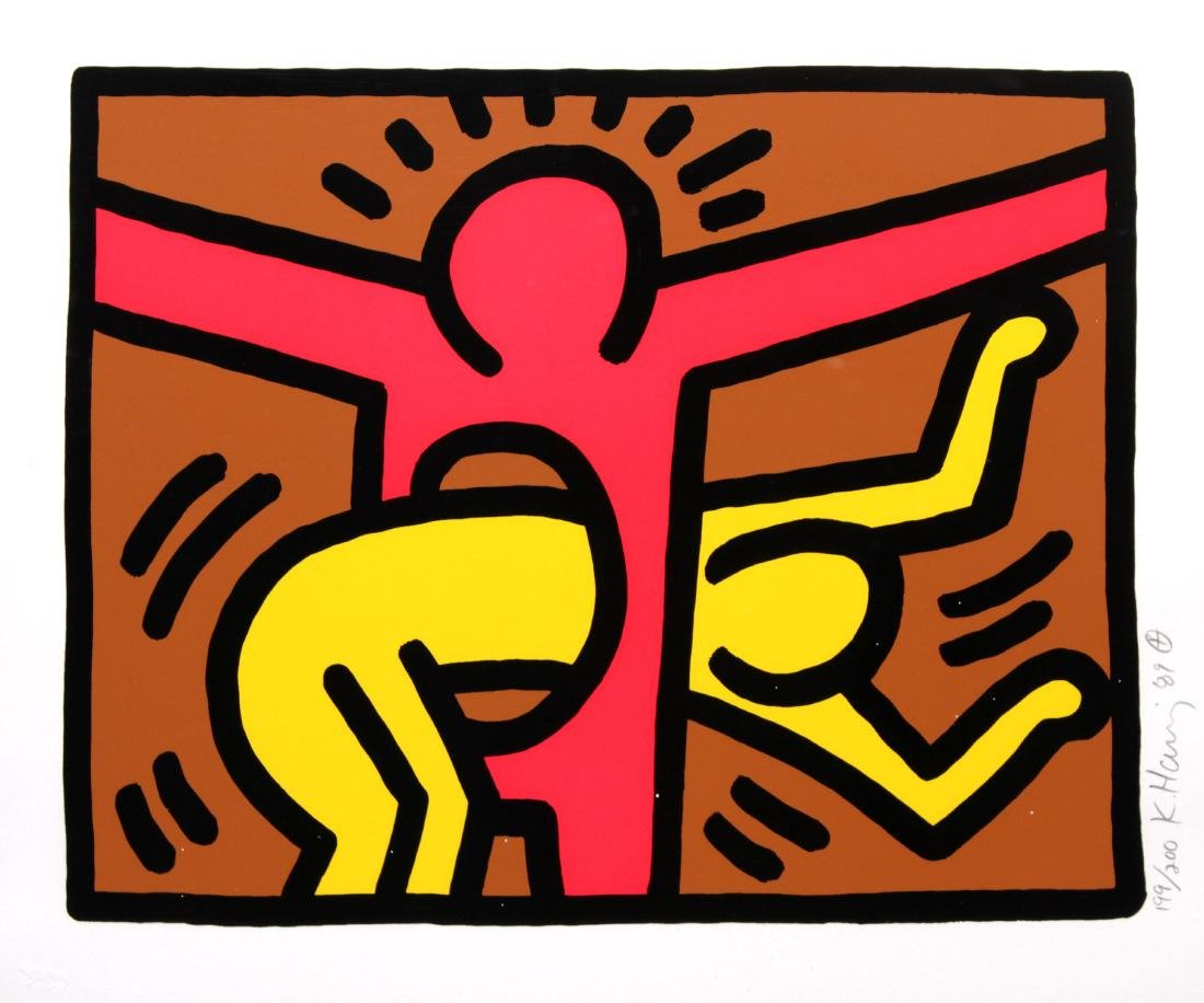 Keith Haring - Untitled IV