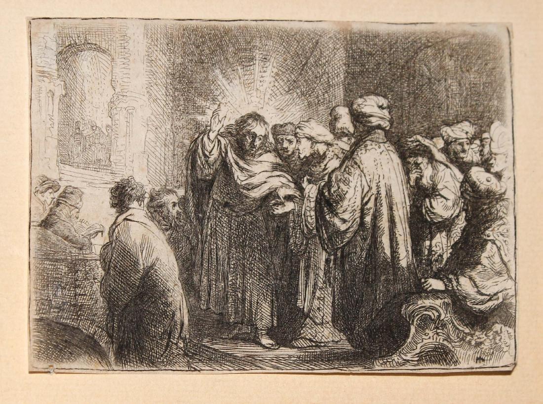 Rembrandt van Rijn - The Tribute Money