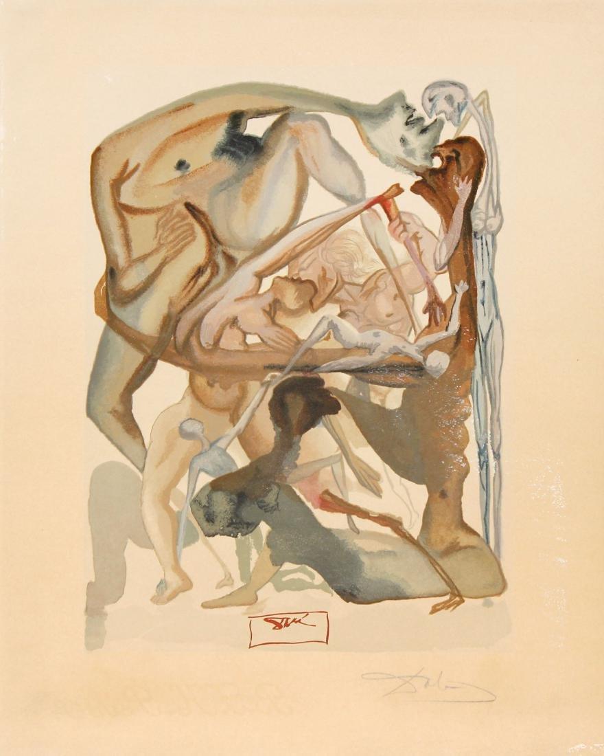 Salvador Dali - In Dark limbo