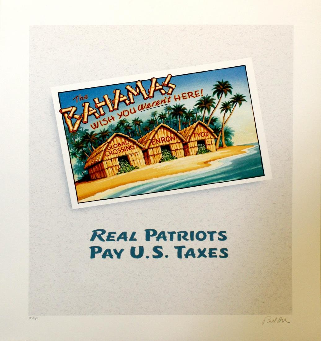 Bill Maher - Real Patriots Pay U.S. Taxes