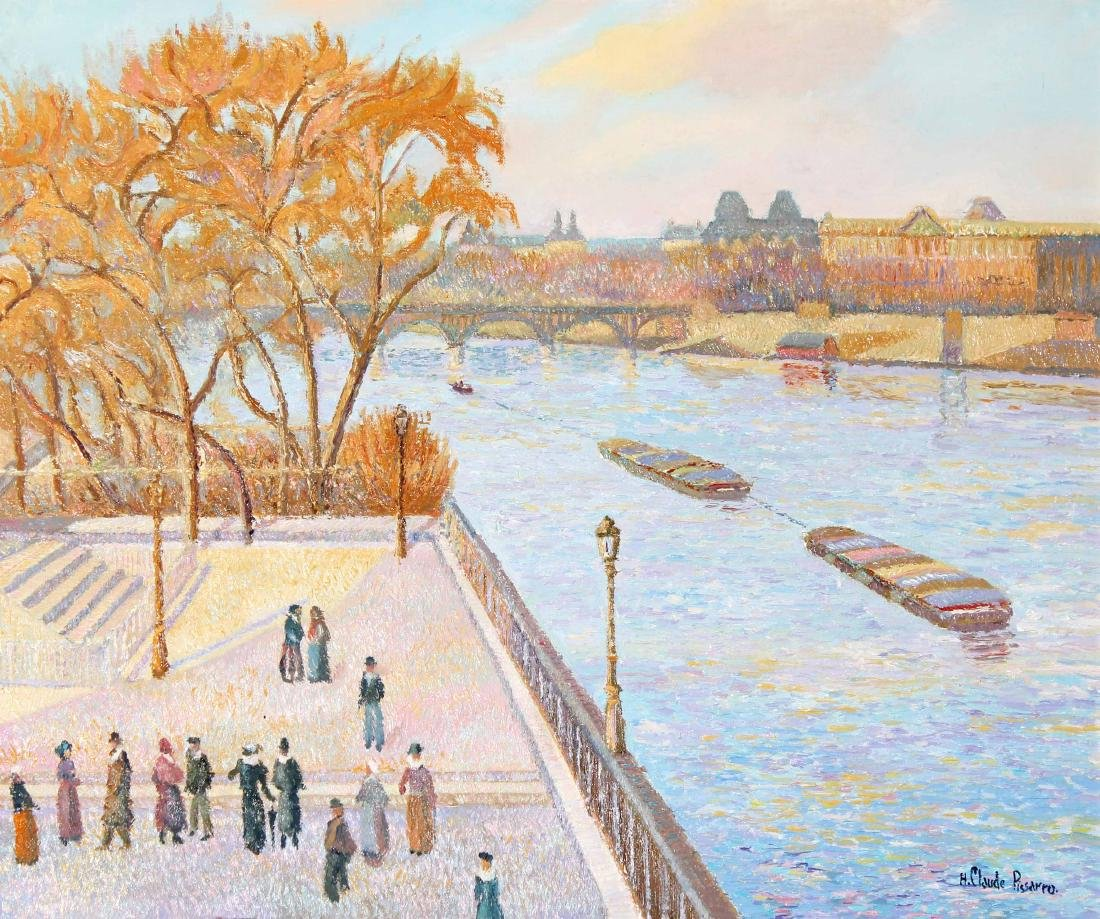 H. Claude Pissarro - Le Vert-Galant