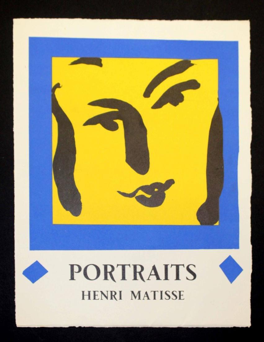 Henri Matisse - Portraits Portfolio Cover