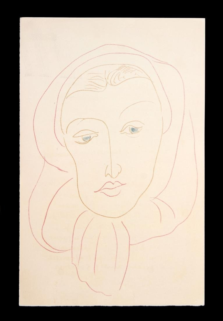 Henri Matisse (After) - Untitled from Poems de Charles