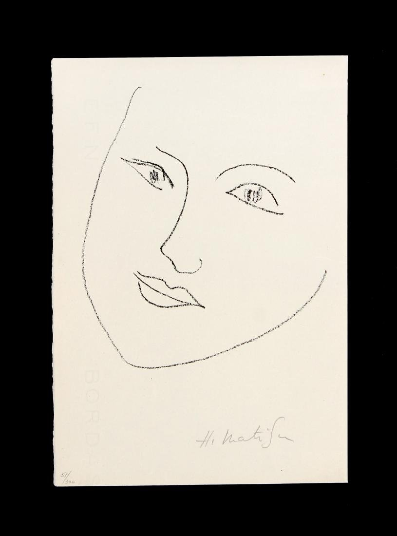 "Henri Matisse - Untitled from ""Tristan Tzara"""