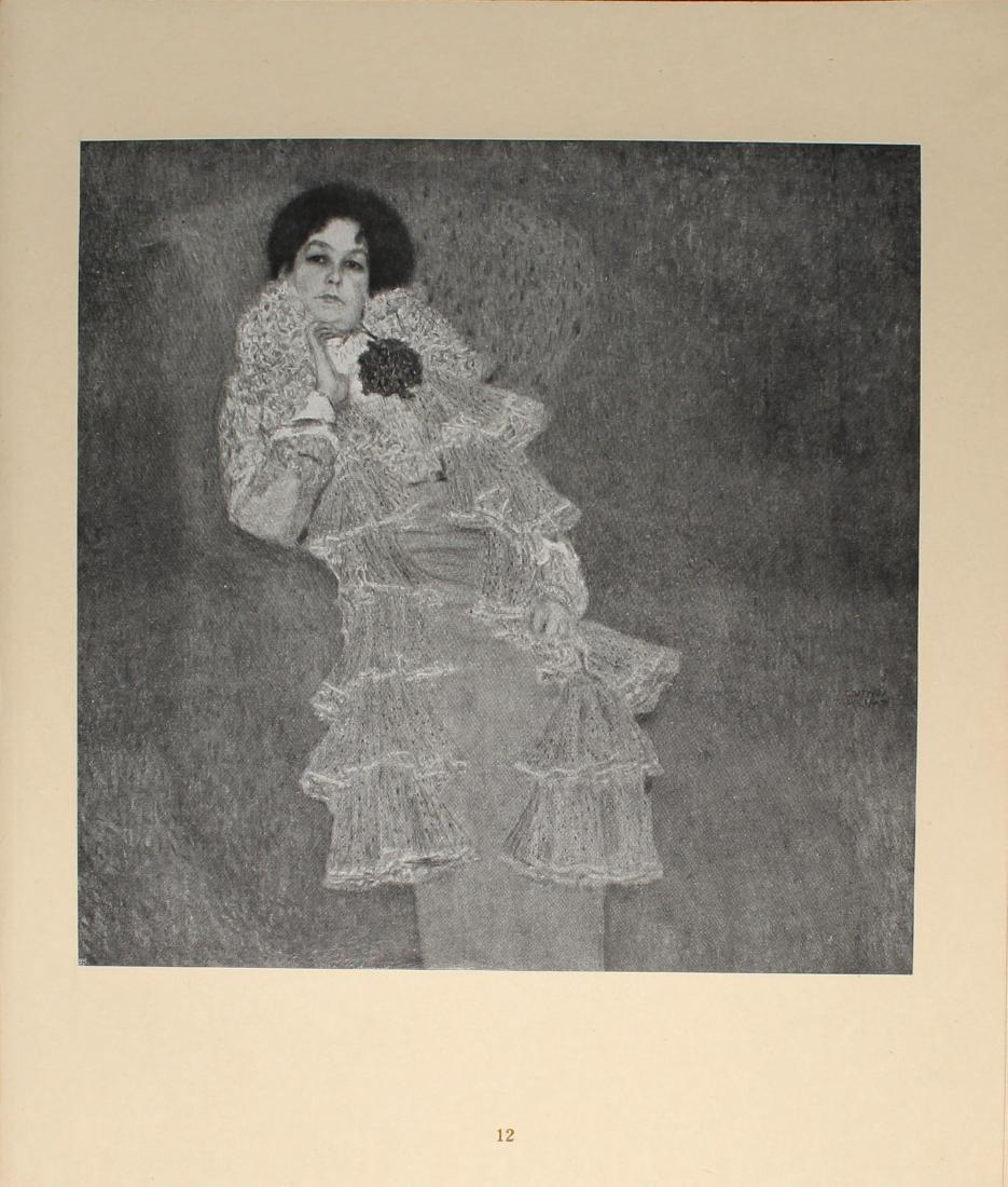 Gustav Klimt - Bidnis der Frau Marie Henneberg