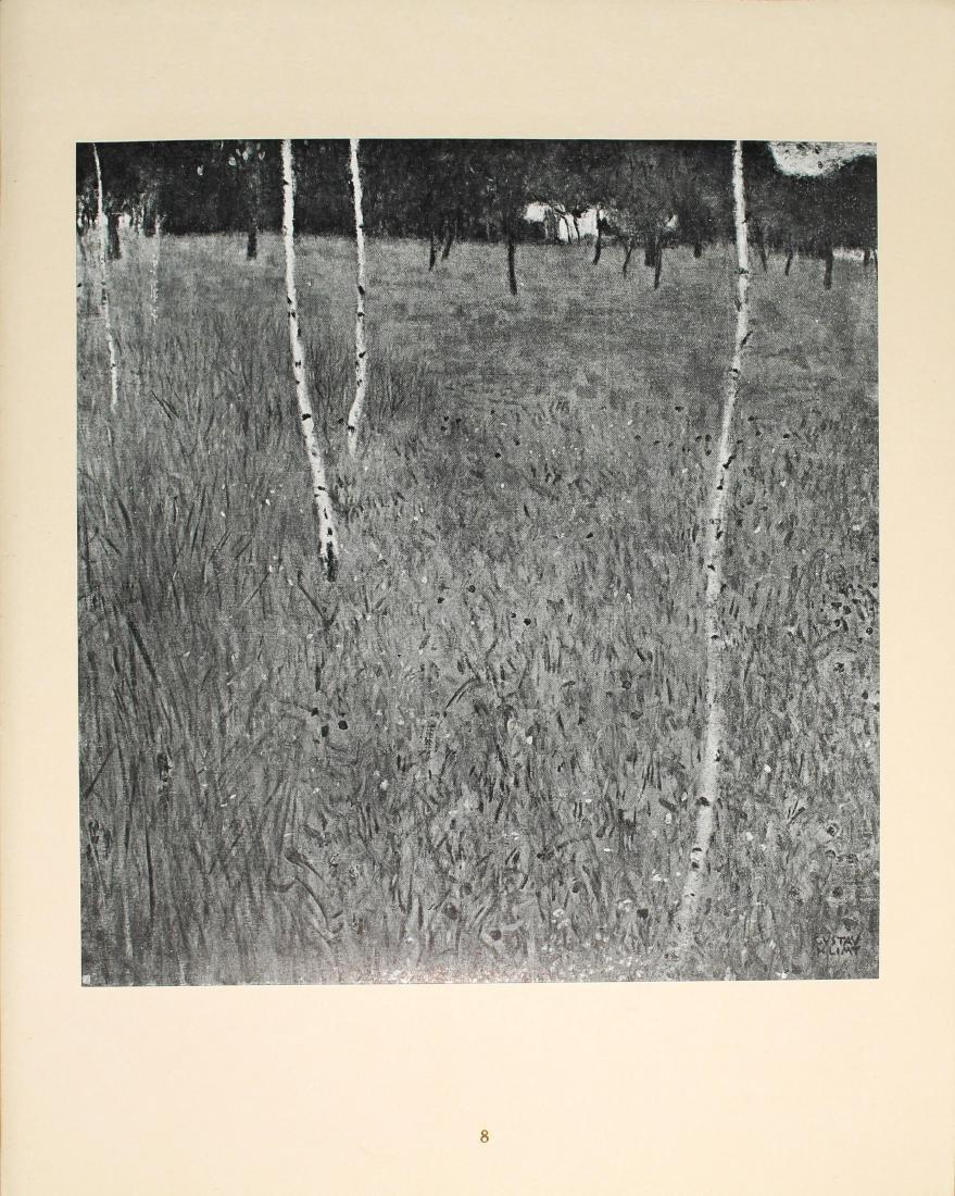 Gustav Klimt - Birken