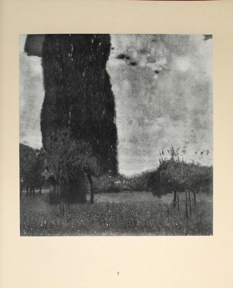 Gustav Klimt - Die hohe Pappel