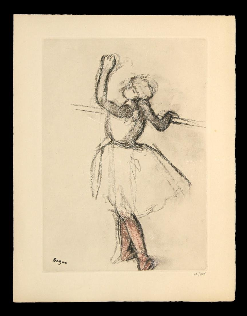 "Edgar Degas - Untitled from ""Danse Dessin"""