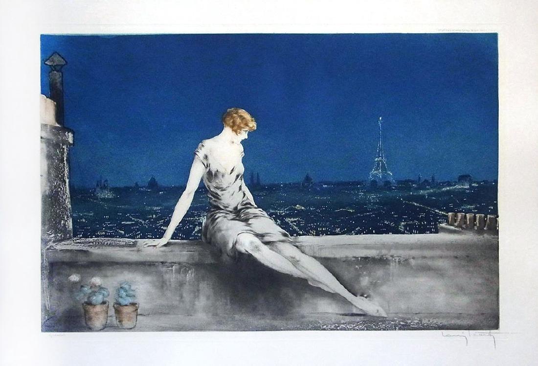Louis Icart - Mimi Pinson