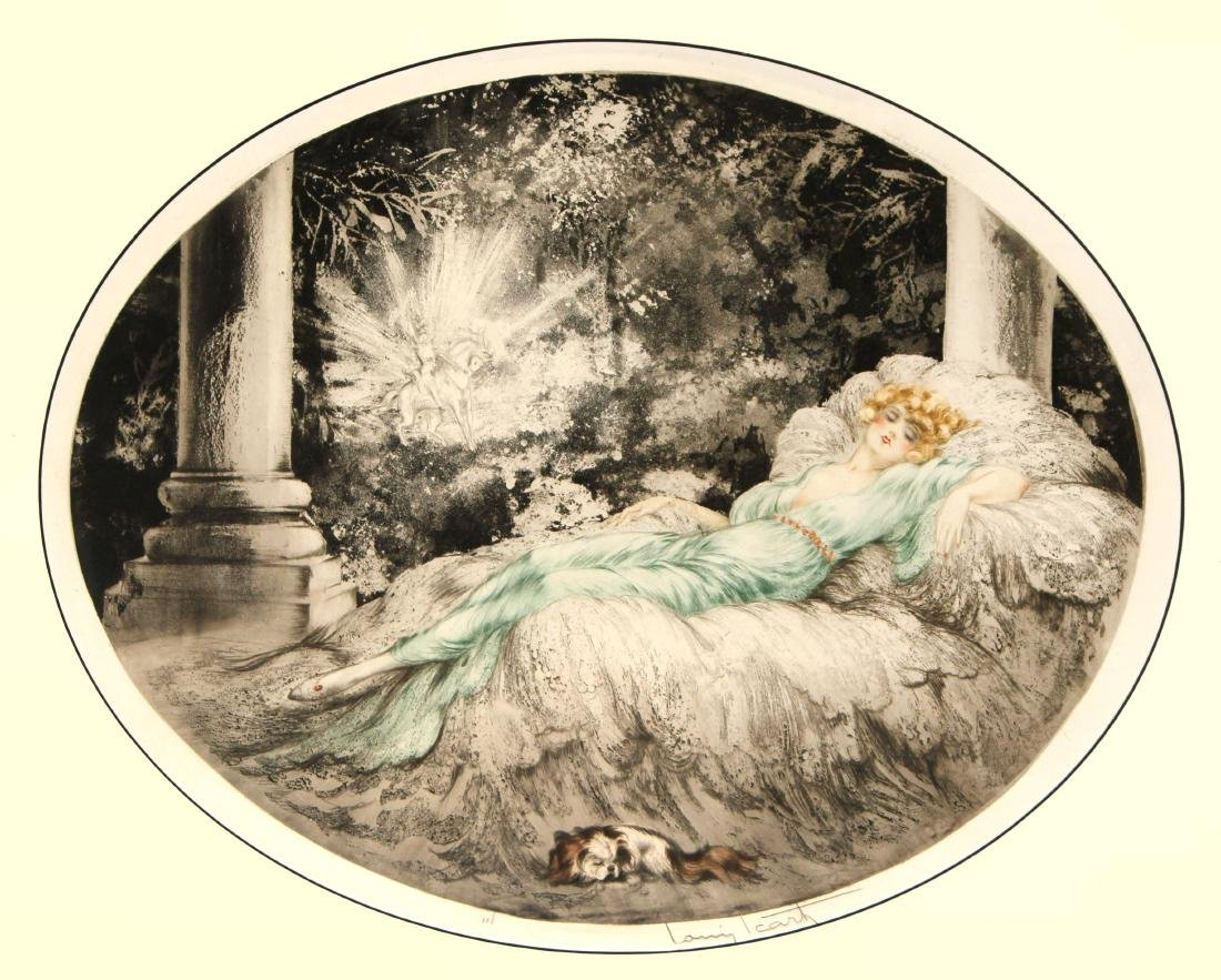 Louis Icart - Sleeping Beauty