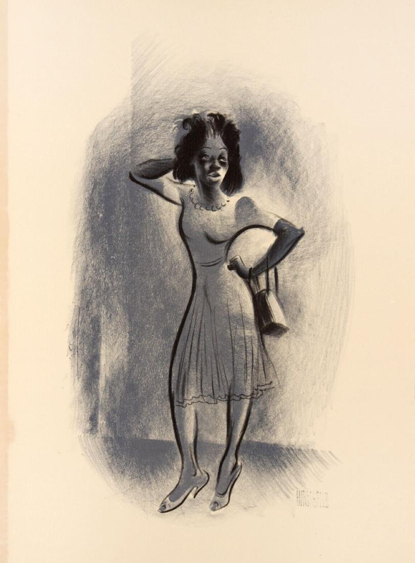 Al Hirschfeld - A Dinner
