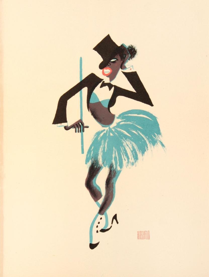 Al Hirschfeld - Apollo Chorine