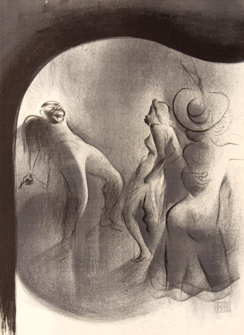 Al Hirschfeld - Boogie-Woogie