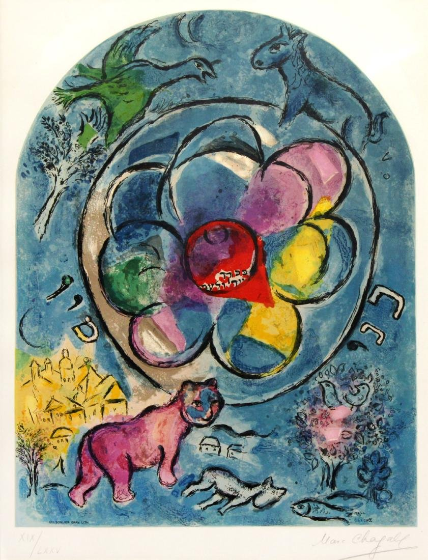 Marc Chagall - Tribe of Benjamin