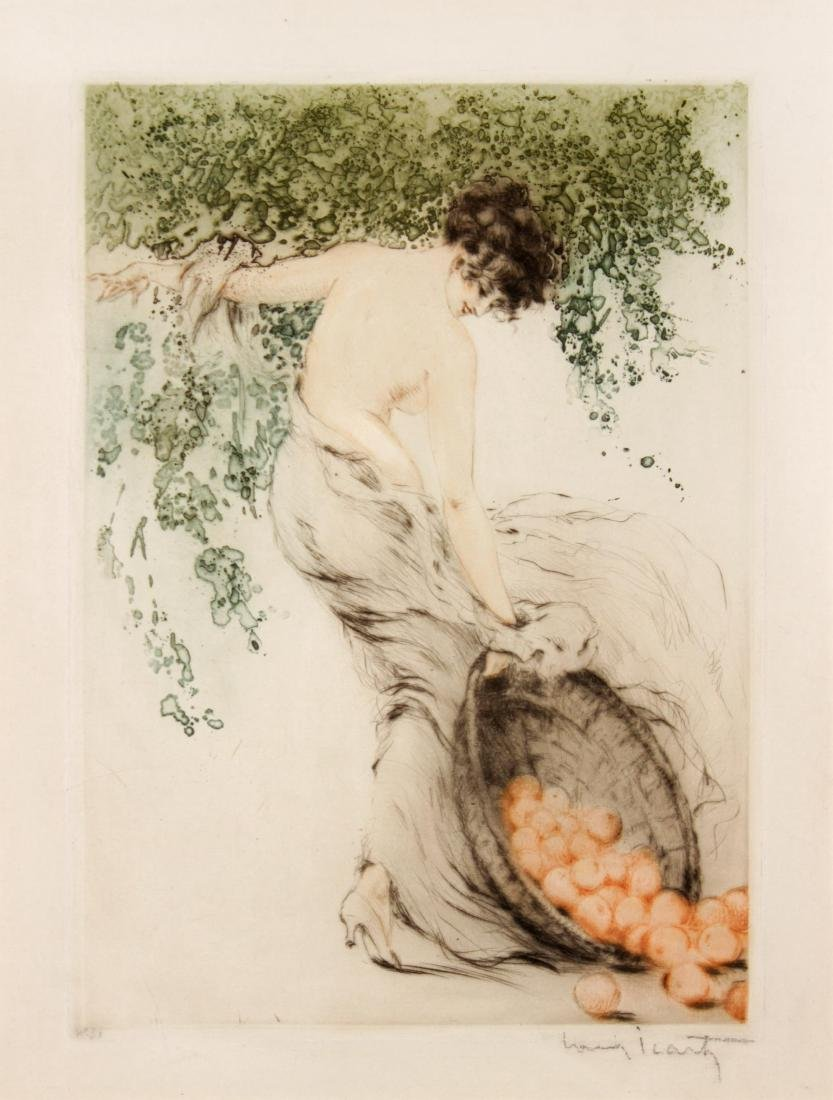 Louis Icart - Summer (Oranges)