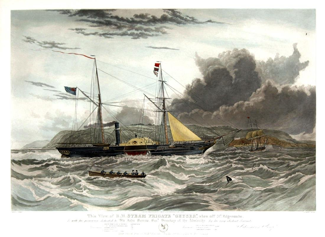 C. Hunt (after Knell) - This View of H.M. Steam Frigate