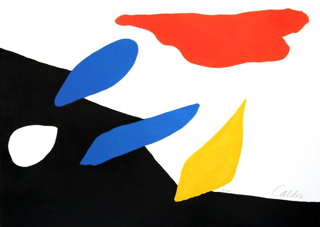 Alexander Calder - Untitled (Red Cloud)