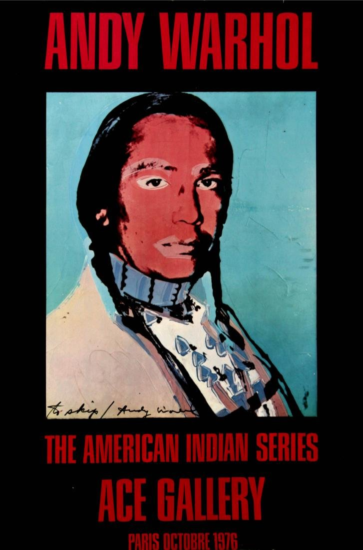 Andy Warhol - The American Indian