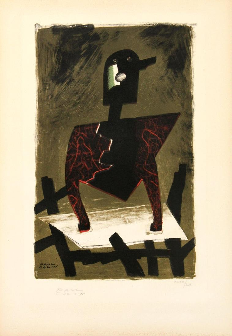 Paul Collin - Untitled Lithograph