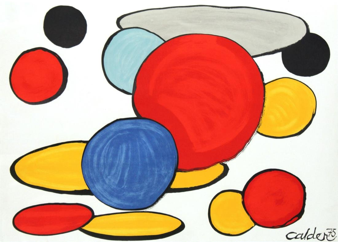 Alexander Calder - Composition for Our Unfinished