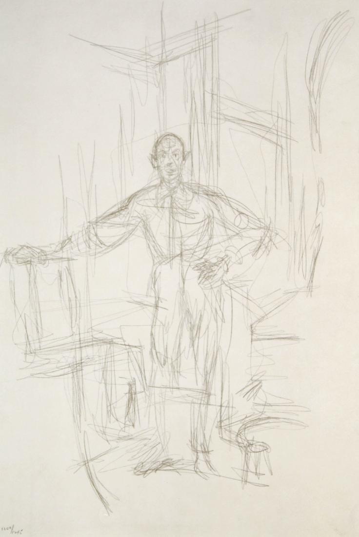 Alberto Giacometti - Ritratto di Diego